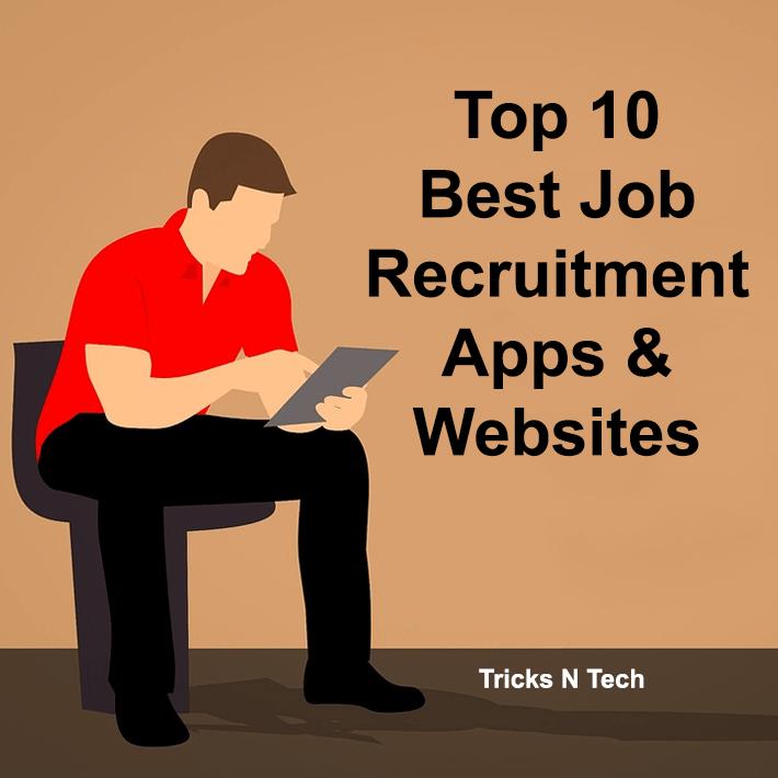 Top 10 Best Job Recruitment Apps & Websites