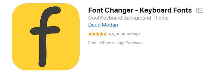 Font Changer Keyboard Fonts