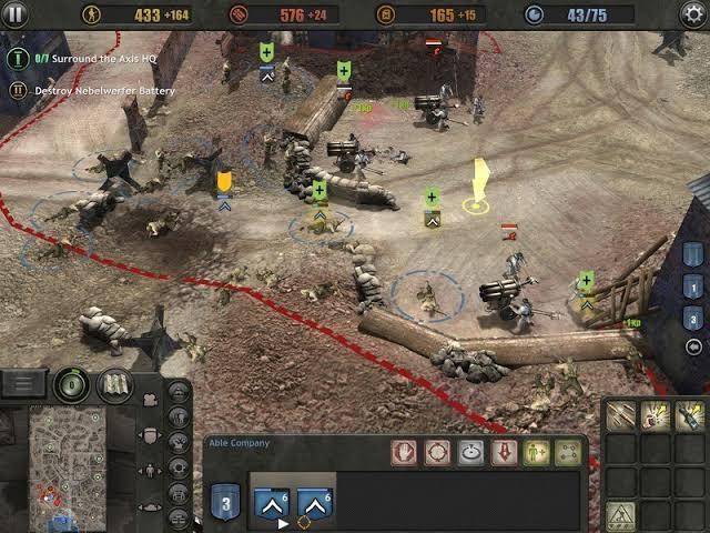 Company of Heroes Mod APK hacked