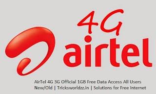AirTel 4G Data Plan