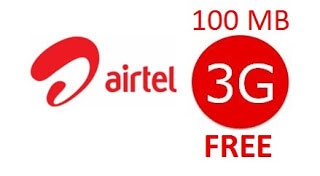 Trick to Get AirTel 3G Free Internet Data Official