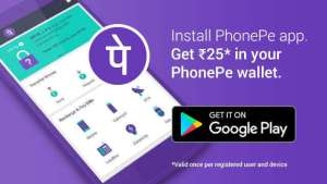 PhonePe Get Free Rs 25 Recharge All Users