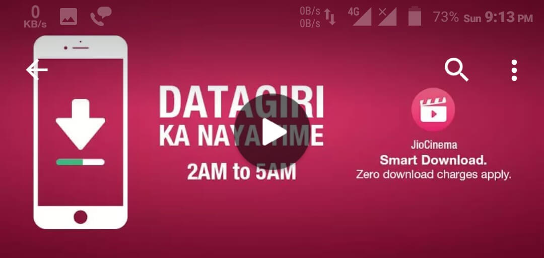 Do Data Giri with JioCinema ap Reliance Jio Official