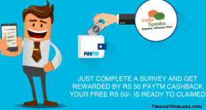 Get Free Rs 50 PayTm Wallet Balance All Users [LOOT]