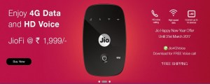 Advantages concerning Buying Reliance Jio Hotspot instead of New 4G Smartphone