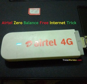 Airtel Zero Balance Free Internet Trick For Android Users