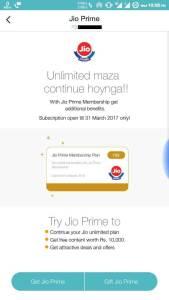 Buy Reliance Jio Prime Membership