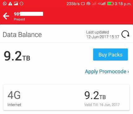 airtel 10gb free internet number