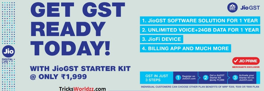 Get GST Ready Buy JioFi JioGST Started Kit
