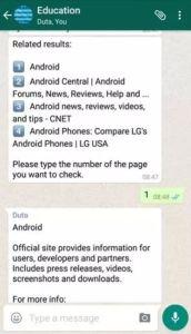 WhatsApp BOT Educational WhatsApp Tricks