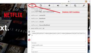 Netflix Premium Account Hourly Updates editmycookie Delete all