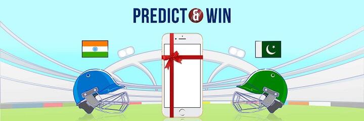 PayTm Predict Cricket Score & Win