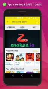 Get Idea 4G Free Internet Data for Downloading Idea Game Spark