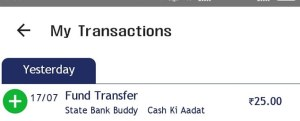 SBI Buddy App Get Free ₹25 Refer & Earn