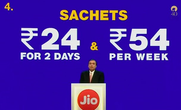 Special JioPhone Tariff Plans