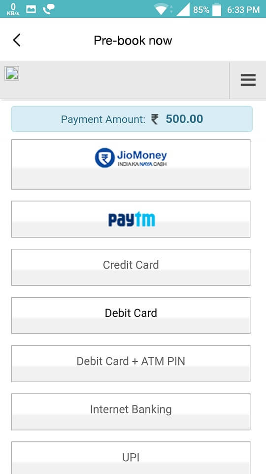 Book JioPhone Payment Options.