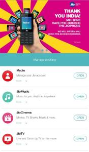 Manage Booking Check Reliance JioPhone Booking Status