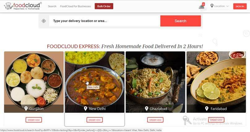 Choose Food from foodcloud