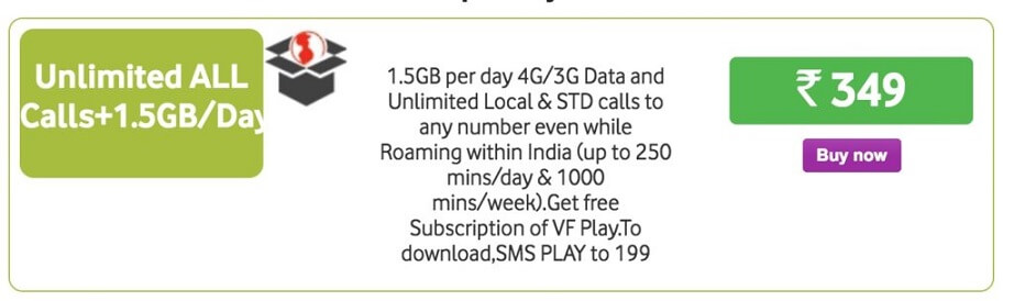 Vodafone Now Offers 1.5GB Free Internet Data Per Day
