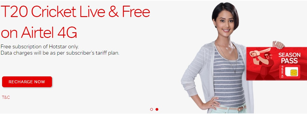 AirTel Rs 219 Plan Unlimited Calls & 39.2GB Free Internet Data
