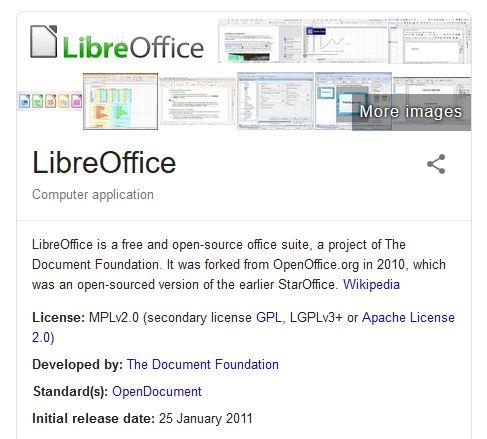 LibreOffice Microsoft office alternatives for mac