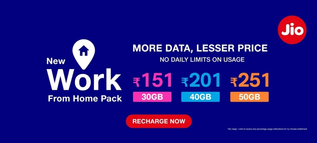 Jio Stopped Offering 2GB Daily Free Internet Data Plan