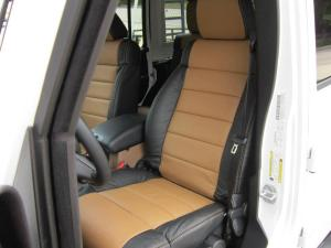 Custom leather seats