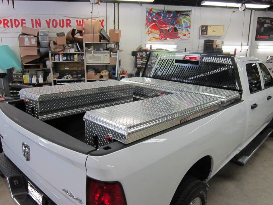 Truck Bed Toolbox Installation In Maryland & Other Work