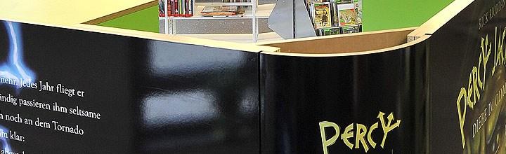 Percy Jackson in der Bücherei
