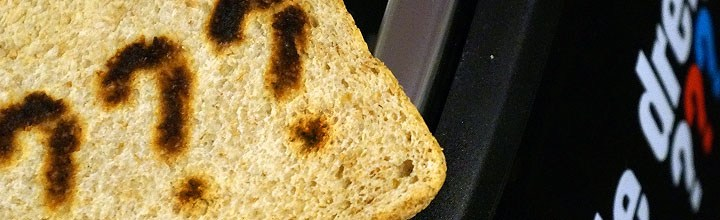 Die drei Fragezeichen Toaster