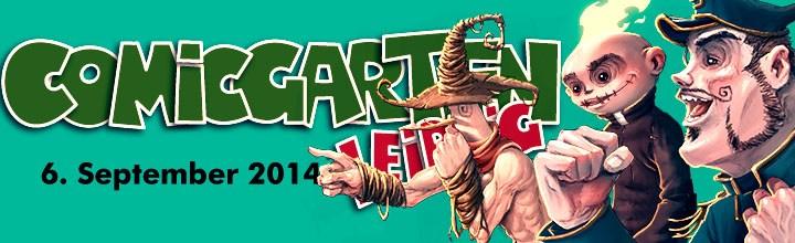 Am 6.9. ist der Comicgarten Leipzig…