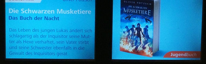 Schwarze Musketiere im Berliner Fenster