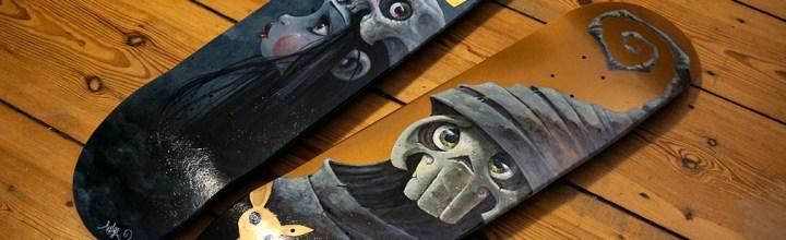 Alisik-Skateboards: Speed Painting-Video