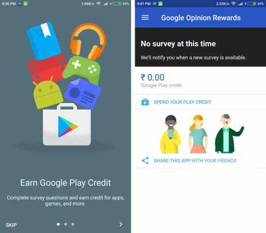 Google Play Credits