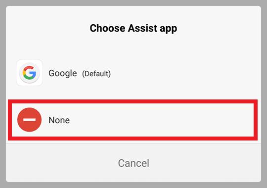 Select None