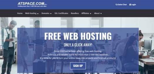 Atspace Web Hosting