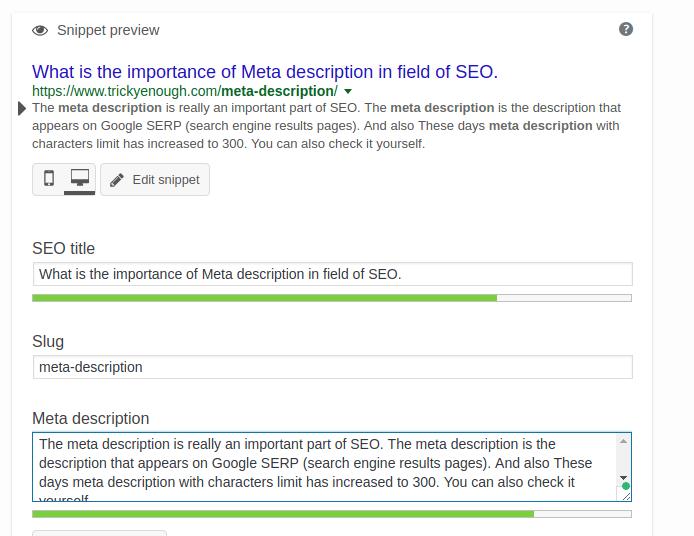 meta description, meta description in seo, meta description length