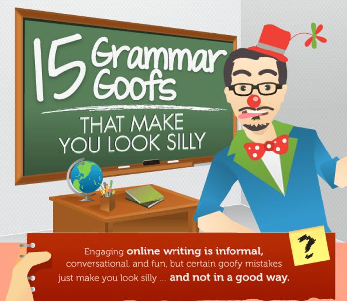 15 Grammar Goofs