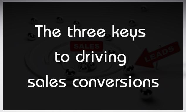 driving sales conversions