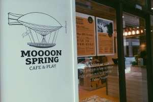 moooon spring cafe taipei