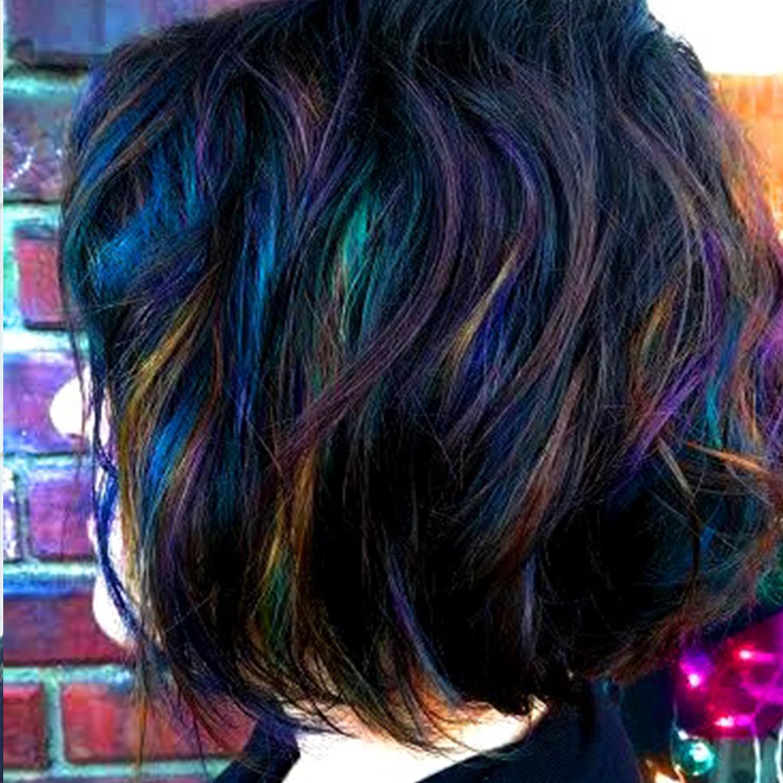 How To Create Oil Slick Hair