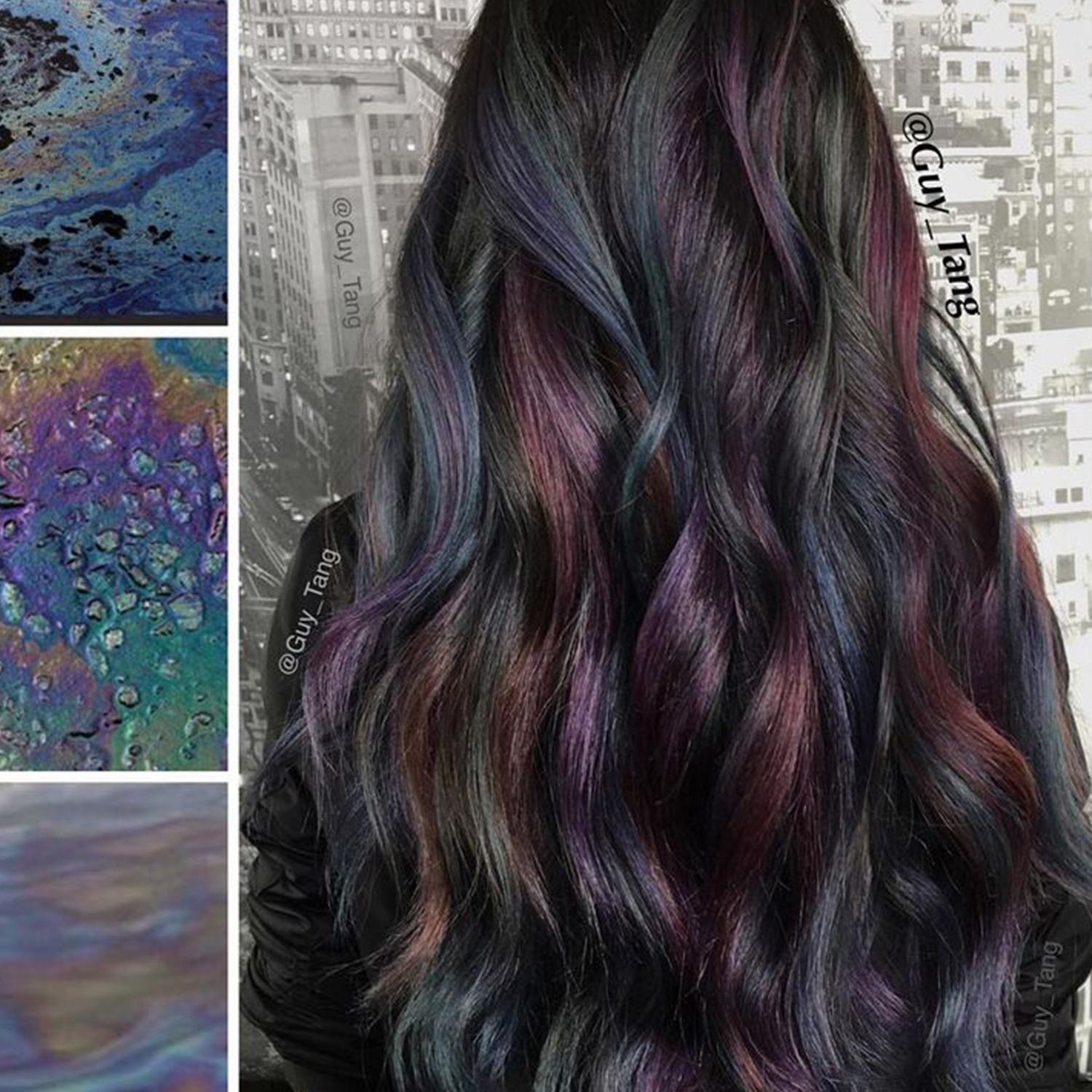 How To Create Oil Slick Hair