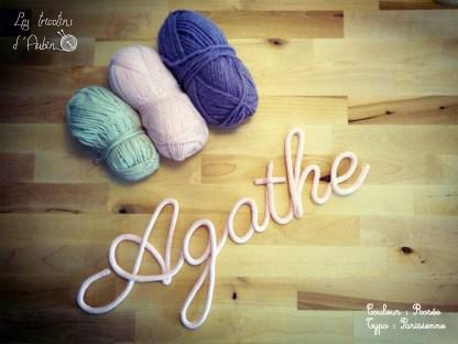 Agathe tricotin