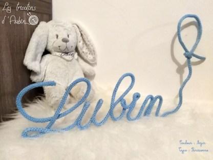 Prénom Lubin tricotin