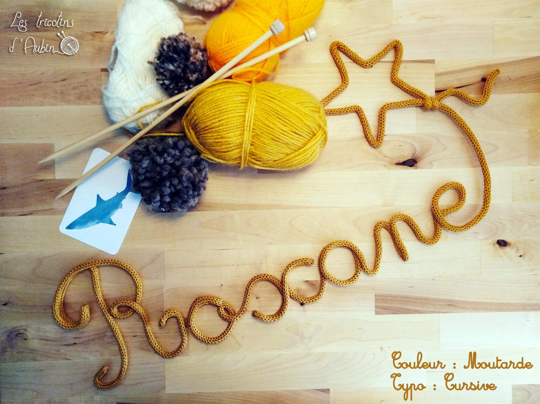 Roxane tricotin