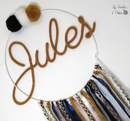 Jules tricotin attrape rêve