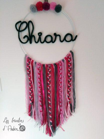 Chiara tricotin attrape rêve