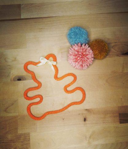 Ourson en tricotin