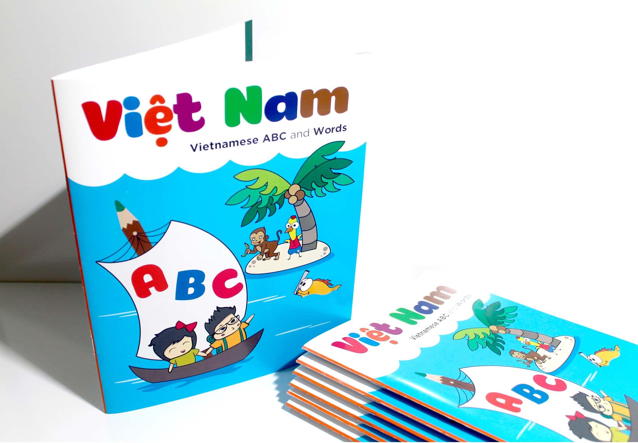 Cover design - Vietnamese Alphabet Project