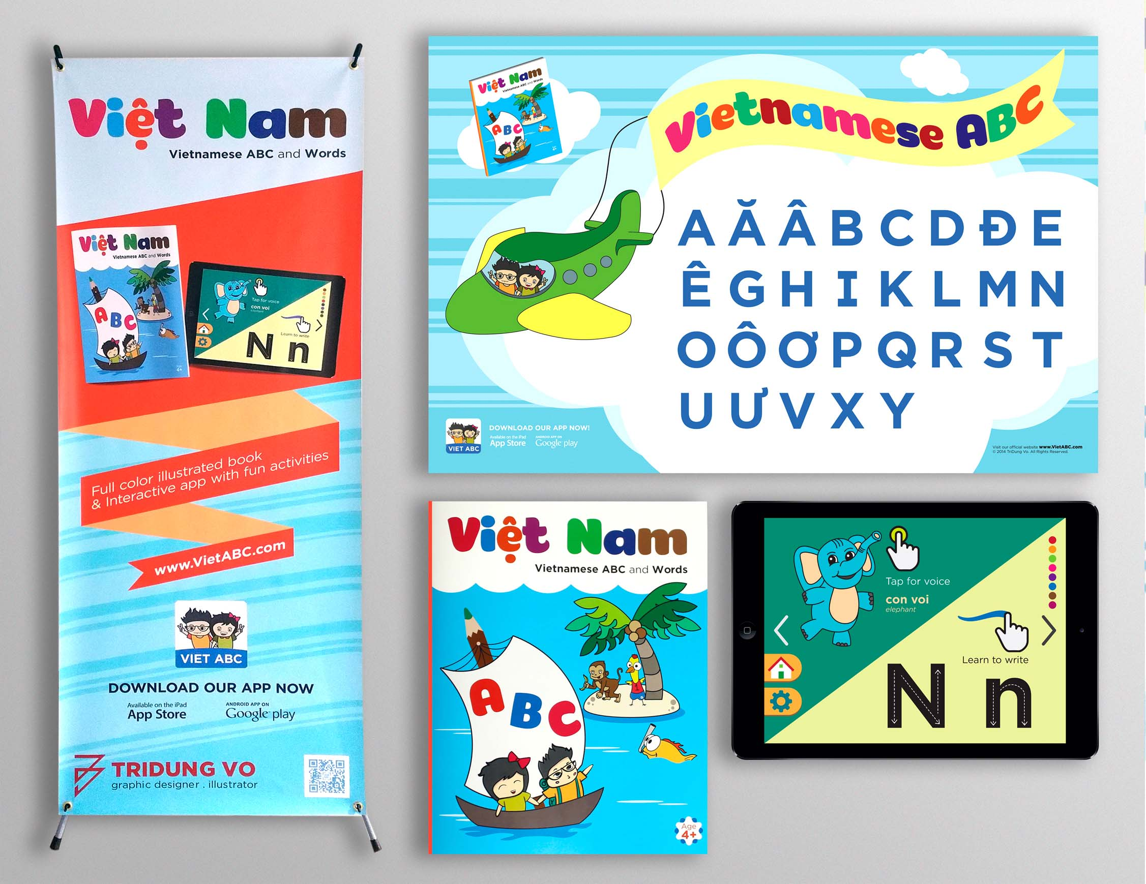 Vietnamese Alphabet Project